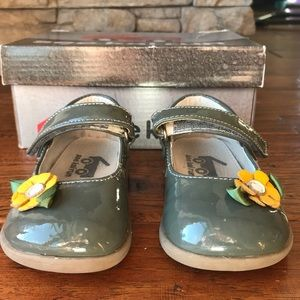 See Kai Run Emily Mary Janes Gray Toddler 6